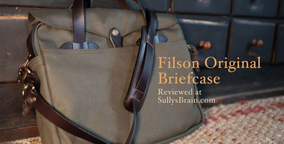 Filson Original Briefcase review