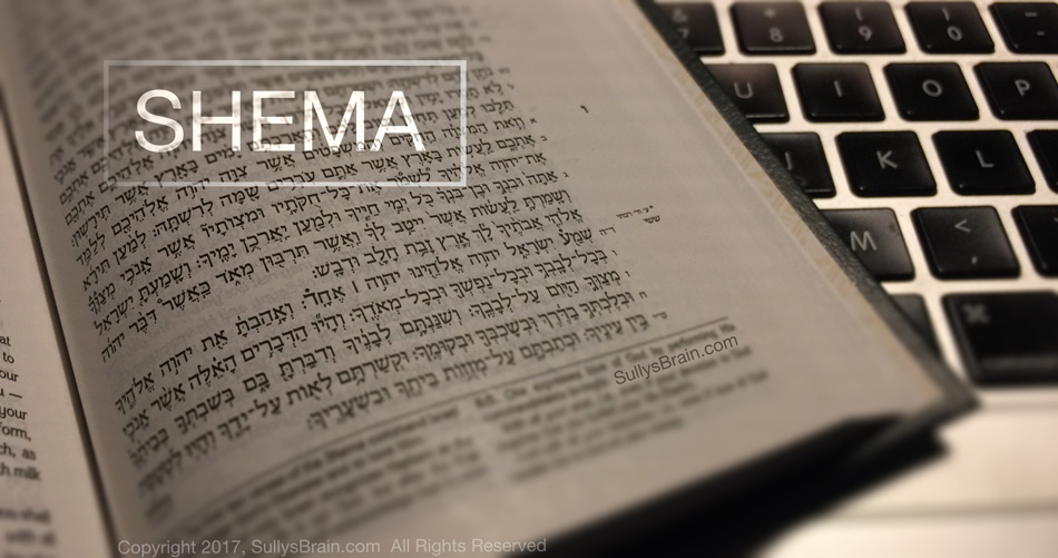 Shema prayer to God