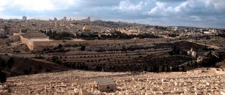 Jerusalem Temple panorama